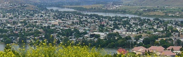 The beautiful city of Kamloops. Taken by Benoit Rochon