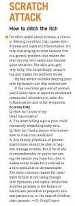 managing eczema