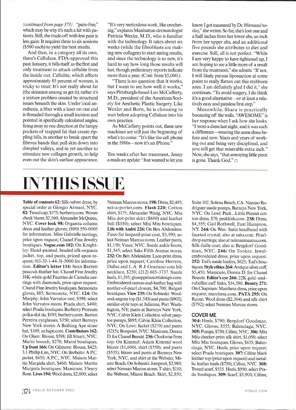 coolsculpting in vogue magazine 5