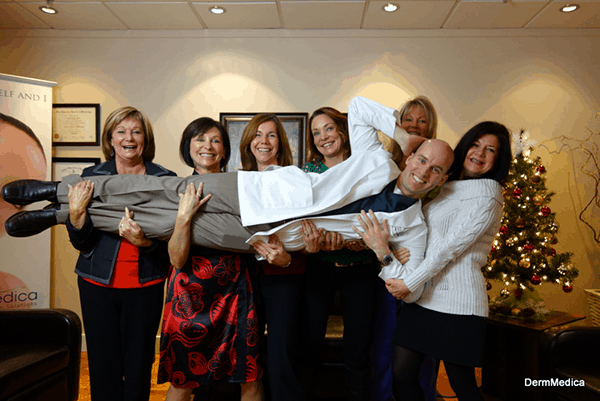 dermmedica staff christmas picture 2012