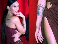 megan fox gets laser tattoo removal